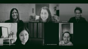 Jennifer Durand, Daniel Escobar, Claudia Garcia, Giovanna Pillaca, Jose Luis Vintimilla [PE/US/ES/EC)