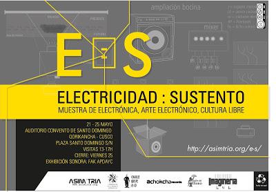 ELECTRICIDAD:SUSTENTO