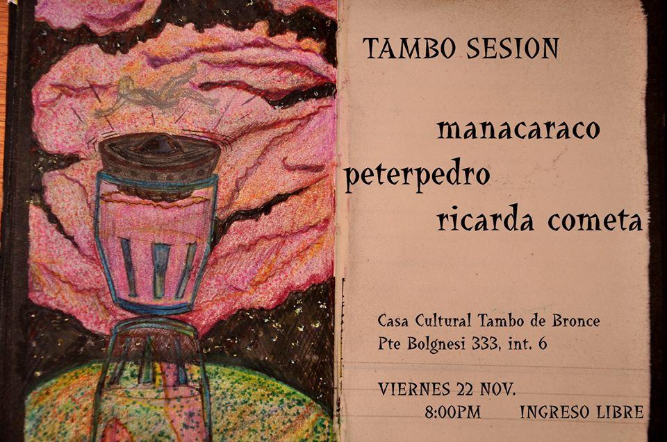 Manacaraco + Peter Pedro + Ricarda Cometa