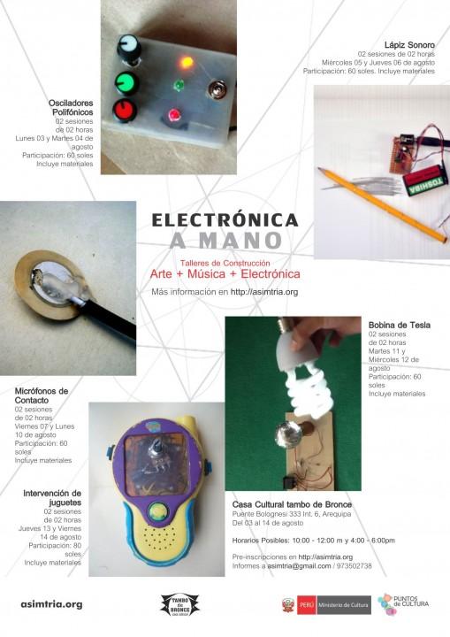 Electrónica a mano | agosto